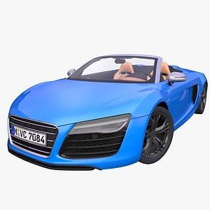 generic car spyder 3D