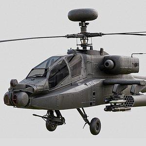 apache ah64d 3D model