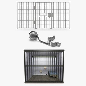 Prison Space Collection 3D