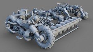 scrap 3D model