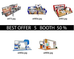 Booth Exhibition Stand c23 model