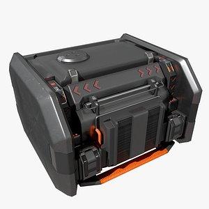 3D space briefcase