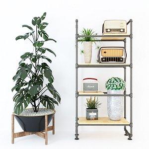 3D Planter Rack PB2