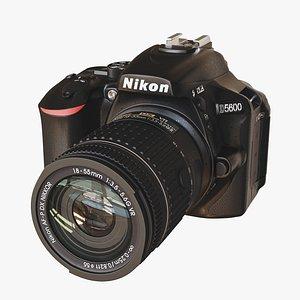 camera dslr 3D model