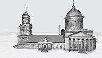 Pokrovsky Cathedral Voronezh