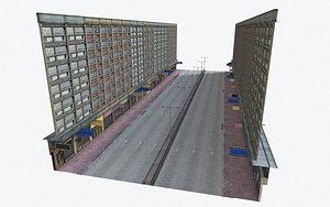 3D model hong kong building
