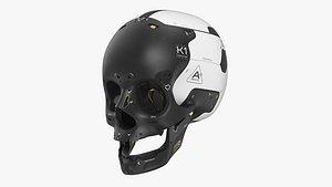 3D skull fi artificial
