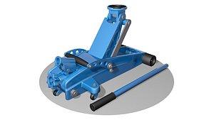 jack hydraulic 3D model