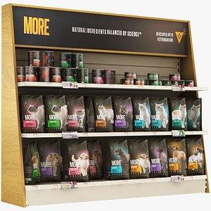 Pet Shop - Pet Food More 3D model