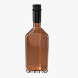 Whiskey bottle 20 3D