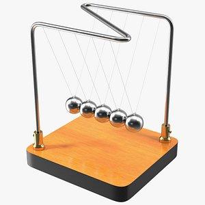 3D Newton Cradle Balance Balls
