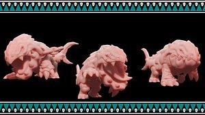 3D bulette print stl model