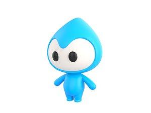3D character mascot