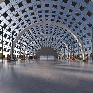 Art Gallery Hangar 10 3D