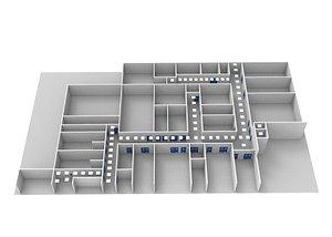 Floor Plan 04 3D