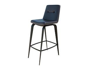3D model furnishings seating stool
