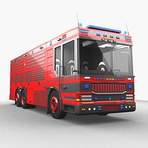 Euro Fire Rescue Emergency 3D model