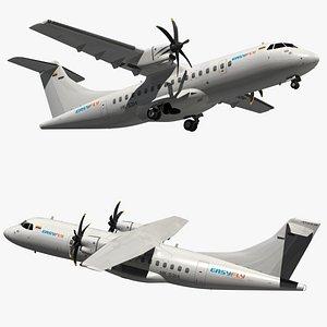 atr 42 easyfly model