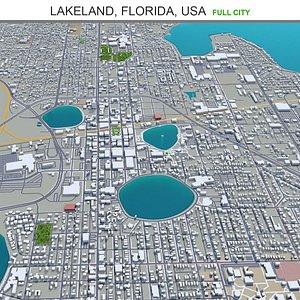 Lakeland Florida USA 3D