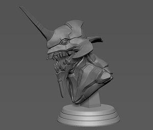 3D Evangelion EVA01 model