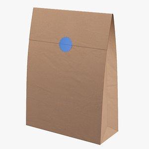 Paper Bag(1) 3D model