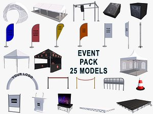 Event Exhibition pack model