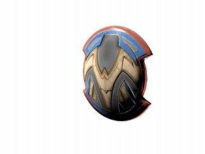 Wonder Women Shield and Sword model