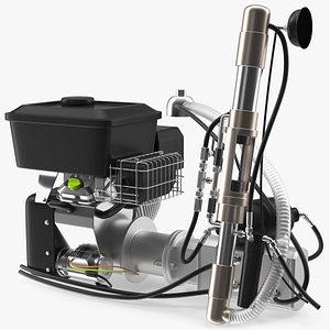 engine machine vehicles 3D