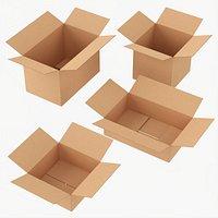Box open cardboard
