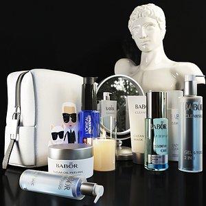 3D A set of elite cosmetics