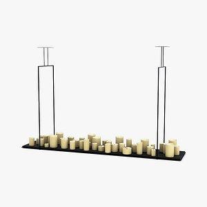 3D Kevin Reilly Lighting Altar