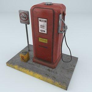 petrol pump gas station model