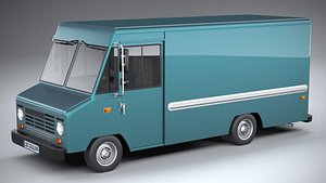 Generic step Van 2021 3D model