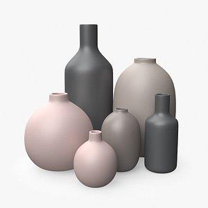 modern plant pot 3D model