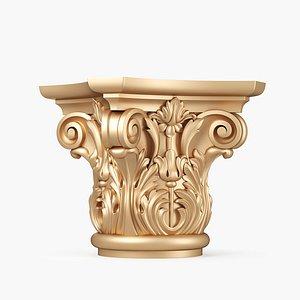 3D Column Capital model