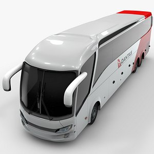 shuttle bus qantas 3D model