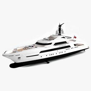 galactica yacht 3D model