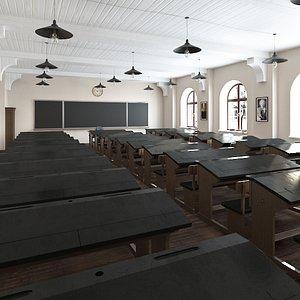 class classroom 3D