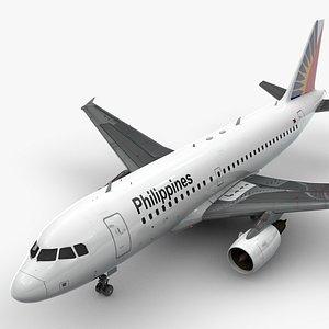 3D AirbusA319-100Philippine AirlinesL1449