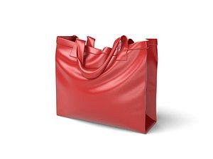 3D model Leather Shopping Bag
