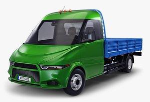 3D generic light duty truck model