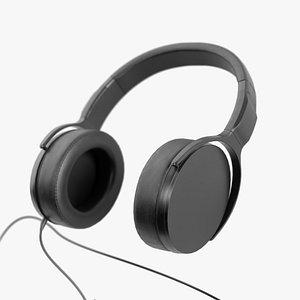 Headphones Lowpoly 3D
