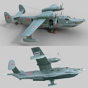 3D Beriev Be-12 model