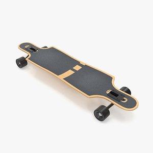 3D Longboard model