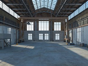 3D Old Warehouse 6