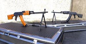 3D RPK Russian Rifle 2 model