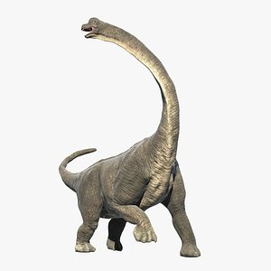 Brachiosaurus - Rigged and Animated 3D model