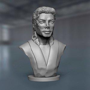 3D michael jackson sculpture model