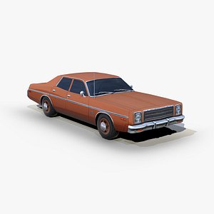 3D plymouth fury 1978