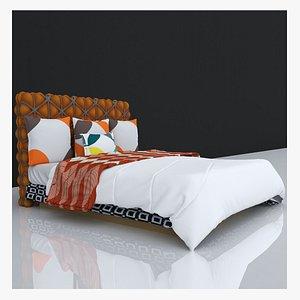 3D BED 12 model